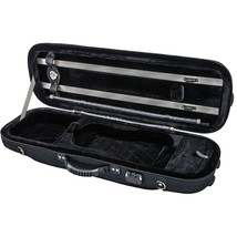 Euro-design Violin Oblong Case 4/4 Size, Black - $134.63