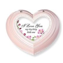 Roman I Love You My Itty Heart Music Box Pink - $52.38