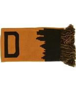 Cleveland Adult Size Soft Fabric Winter Knit Scarves (Orange/Brown Skyline) - $13.99