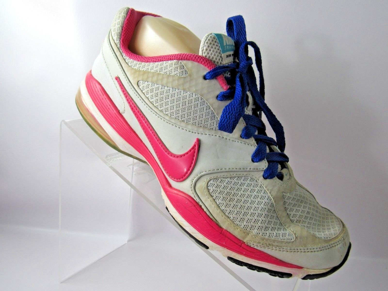 88fe99ddff8 Nike Air Max Prosper 508637-064 Size 9M Pink blue Gray Running Shoes For  Women