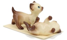 Hagen Renaker Specialty Cat Siamese Kittens - 2 Piece Ceramic Figurine Set image 5