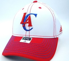 Los Angeles Clippers Adidas TN67Z NBA Basketball Stretch Fit Cap Hat L/XL - $18.99