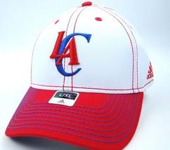 Los Angeles Clippers Adidas TN67Z NBA Basketball Stretch Fit Cap Hat L/XL - $18.99