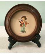 Hummel Little Music Makers 1983 First Edition Hum 744 Plate With Wood Di... - $34.99