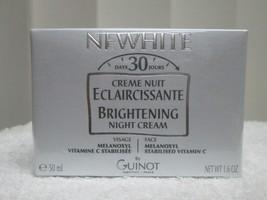 GUINOT newhite night cream 1.6  oz/50ml  - $48.00