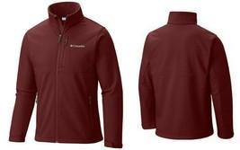 Columbia Ascender Men's Softshell Jacket Big & Tall, Deep Rust/Grey, Siz... - $79.99
