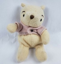 "Walt Disney Winnie the Pooh 8"" Plush Bear Classic Pooh Stuffed Animal  - $13.31"