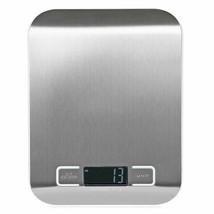 Báscula de cocina digital compacta, comida dietética, envío postal 5KG /... - $12.56