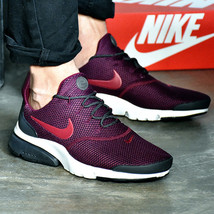 Nike Air Presto Fly SE Bordeaux Anthracite White Noble Red Maroon 908020-601 - $99.95