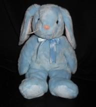 Vintage 1999 Ty Bambino Flippity Beanie Blu Coniglietto Peluche Peluche - $30.73