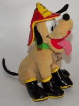 "Firedog Pluto Bean Bag Plush 8"" Disney Stuffed Animal Toy Mickey Mouse Dog - $14.80"