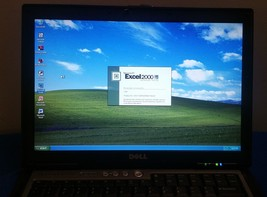 Dell Latitude D620 Laptop Windows XP Core2 Duo 60GB Serial Port MICROSOF... - $115.78