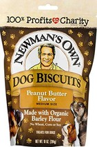 Newman's Own Dog Biscuits, 10-oz. Pack of 6, Peanut Butter - $23.35