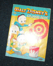 Walt Disney's Coloring book Huey Dewey Louie - $16.98