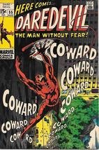 Daredevil Comic Book #55 Marvel Comics 1969 FINE+ - $19.27