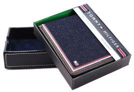 Tommy Hilfiger Men's Leather Wallet Passcase Billfold Rfid Brown 31TL220103 image 9