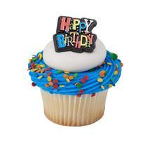Birthday Shimmer Cupcake Rings - $2.33+