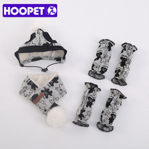 HOOPET® Pet Scarf Small Dog Boots Hat Teddy Bear Winter Travel Warm Pupp... - $6.51