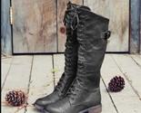 Tiosebon Fashion Cross-Lace Boots - Black, RED, BROWN, 6US 4UK - $54.86