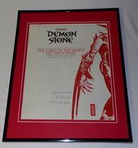 Demon Stone 2003 PS2 Atari 11x14 Framed ORIGINAL Vintage Advertisement - $32.36