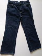 Boys Size 12H Husky Jeans Faded Glory Adjustable Waist Relaxed Fit Boot Cut NWT - $5.81