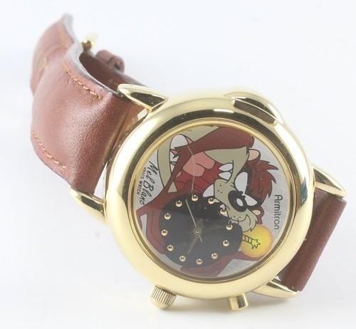 Armitron Taz Voice Wristwatch Looney Tunes Tazmanian Devil watch Mel Blanc H8