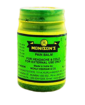 Monison 100grams Pain Balm For Headache & Cold Many Benefits - $8.00