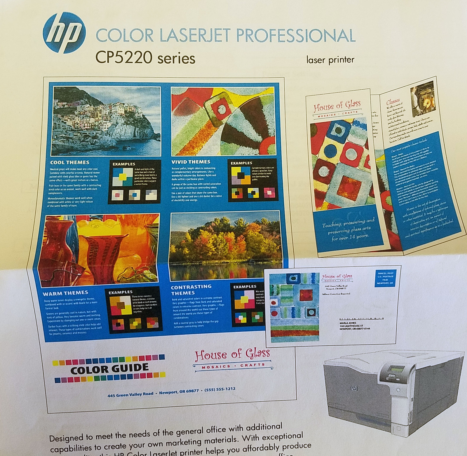 HP CE711A Color LaserJet Professional CP5225n Printer (NEW)