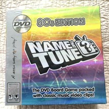 Name That Tune 1980's Edition DVD Board Game New & Sealed - $28.50