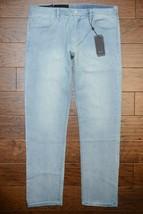 Armani Exchange A|X Men's Straight Fit Stretch Cotton Light Blue Jeans 3... - $60.38