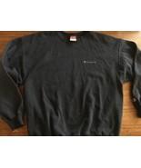 Vintage Champion Spellout Script Sweatshirt Size XL Crewneck Spell Out B... - $36.10