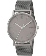 Skagen Men's SKW6354 'Signatur' Grey Stainless Steel Watch - $85.80