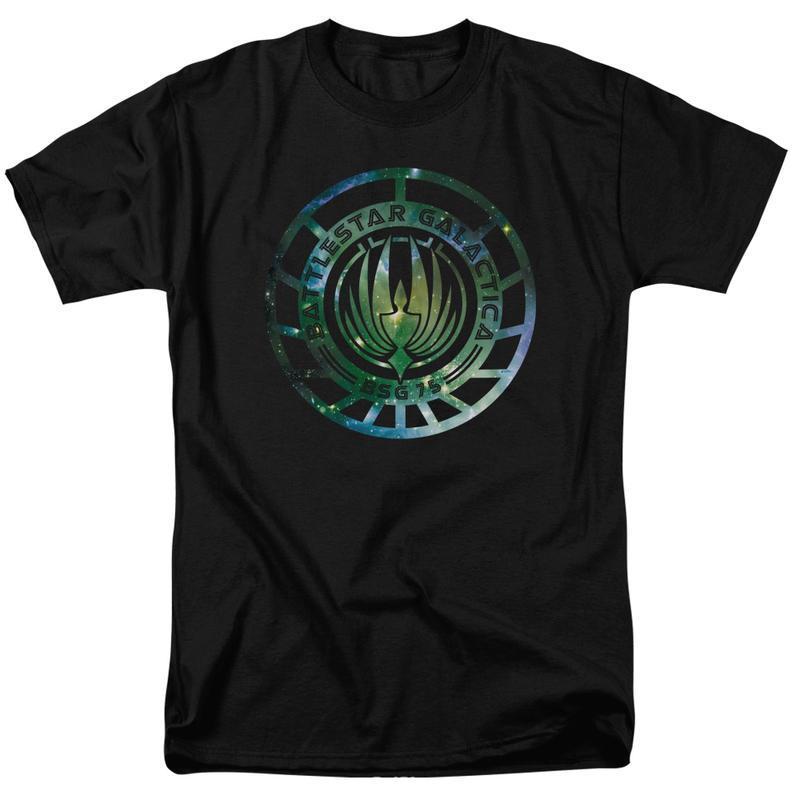 Battlestar galactica galaxy emblem men s regular fit t shirt bsg250 at 800x