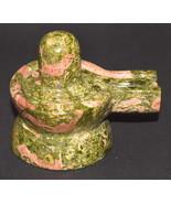 Shivling In Natural Unakite - 271 gm - $85.00