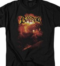 Lord of the Rings shadow  darkness Balrog Mines of Moria graphic tee LOR1008 image 3
