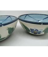 "Gail Pittman Annabella 6"" Soup Cereal Bowls Set Of 2 Bowls Read Descript... - $36.31"
