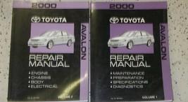 2000 Toyota AVALON Service Shop Repair Workshop Manual Set OEM Factory - $118.80