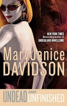 Undead And Unfinished~MaryJanice Davidson~Book  #9 Betsy Undead Series~H... - $19.99