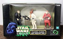 CANTINA ALIENS PLAYSET Star Wars Ep1 Mos Eisley 84059 Labria Takeel POTF... - $25.21