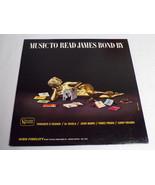 Music To Read James Bond By ORIGINAL Vintage 1964 Vinyl LP Record Album - $18.49