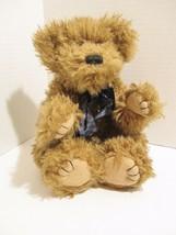 JB Bean Series Boyds Collection Plush Brown Bear Hand Made Stuffed Anima... - $9.48