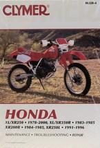 1983-1985 Honda Xr350r Clymer Repair Manual M328 - $29.59