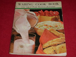 1968 Waring Cook Book For The 8 Push Button Blender - $10.35