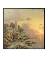 Thomas Kinkade The Sea Of Tranquility 36 X 36 Gerahmt Wandbild - $399.45