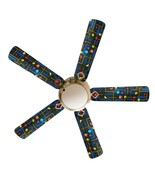 """Pixels Pac Man Video Game 52"""" Ceiling Fan and Lamp - $118.99"""