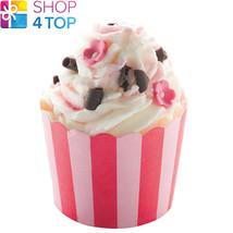 Skin Candy Cocoa Swirl Raspberry Jasmine Handmade Natural Bomb Cosmetics New - $6.33