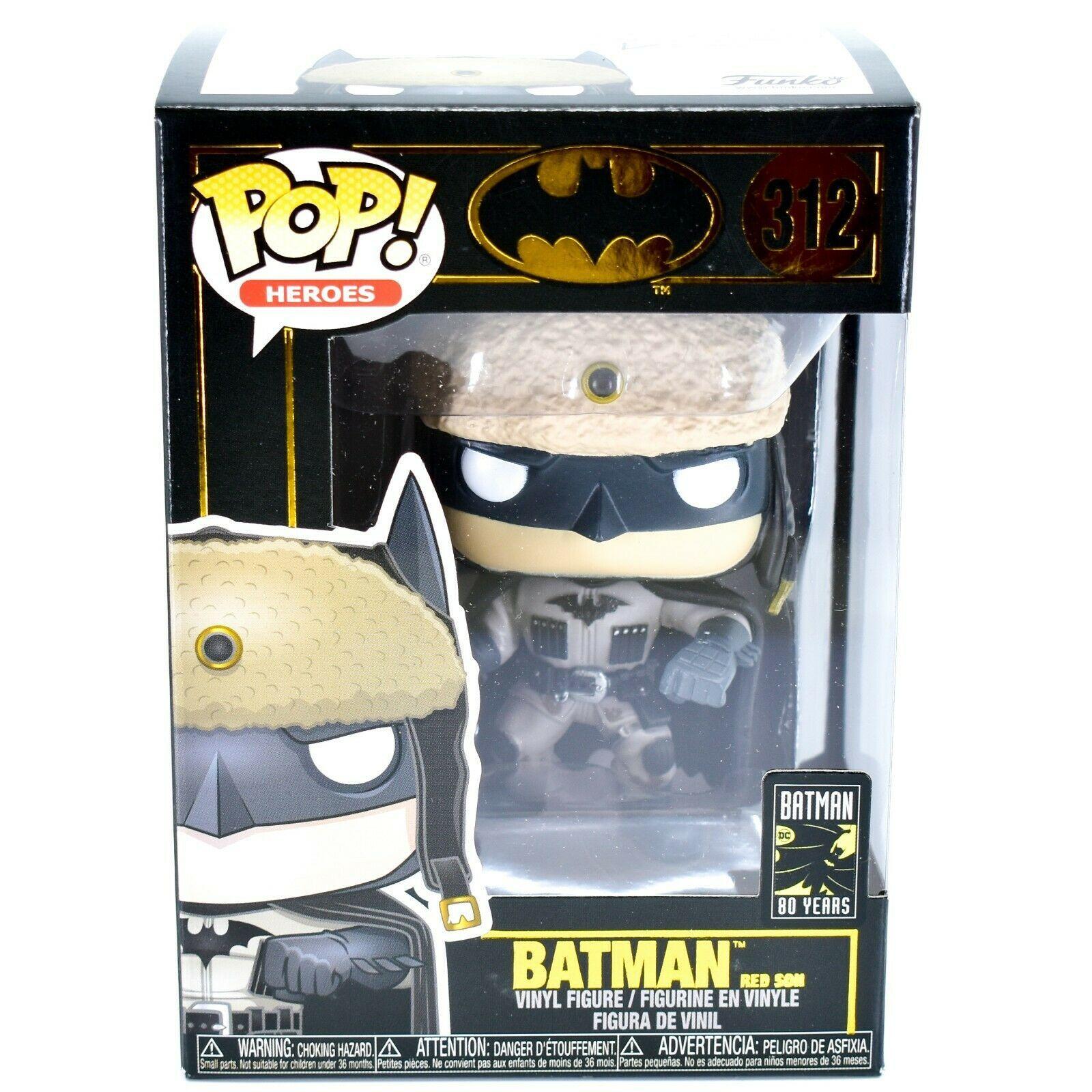 Funko Pop! Heroes 2003 Batman Red Son 80 Years Anniversary Vinyl Figure #312