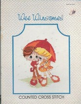 Wee Winsomes Book WW-2 for Counted Cross Stitch 1984 Caro Creations Vint... - $4.99