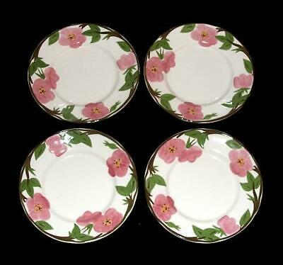 "Primary image for PRIVATE: 4 Franciscan DESERT ROSE 8"" Plates NWT 3 Sets Available New Production"