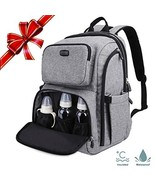 Professional Baby Diaper Bag with Stroller Straps & Changing Pad, Anti-w... - $43.70